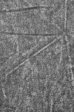 Naturalna Czarna Bieliźniana Drelichowa Bawełniana chino cajgów tekstura, Szczegółowy Pionowo tła zbliżenie Zdjęcia Stock