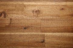Naturalna Drewniana biurko tekstura, Odgórny widok Zdjęcia Royalty Free