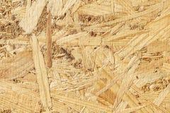 Naturalna drewniana osb tekstura Fotografia Royalty Free