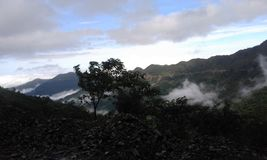 Naturalna fotografii wzgórza strona Zdjęcie Stock