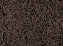 Naturalna glebowa tekstura Zdjęcia Royalty Free