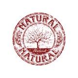 naturalna grunge pieczątka Fotografia Royalty Free