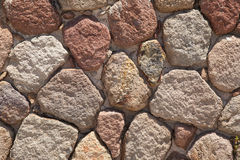 Naturalna kamienna ściana Zdjęcia Royalty Free