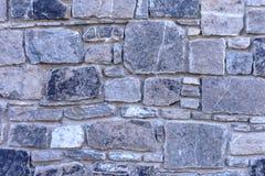 Naturalna kamienna ściana robić kamienna tekstura dla wewnętrznego projekta Zdjęcie Royalty Free