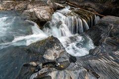 Naturalna mostu i werteba rockowa formacja nad kopanie koniem Ri fotografia stock