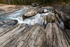 Naturalna mostu i werteba rockowa formacja nad kopanie koniem Ri obraz royalty free