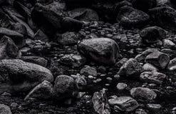 Naturalna naturalnego tła tła kamienia zen skała Zdjęcia Royalty Free
