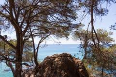Naturalna ocean otoczka Zdjęcia Royalty Free