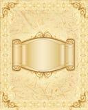 Naturalna rama i sztandar Zdjęcia Royalty Free