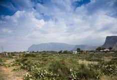 Naturalna rezerwa Sicily Obraz Royalty Free