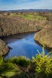 naturalna rzeka Zdjęcia Stock