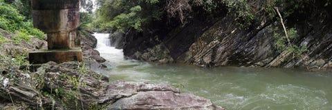 Naturalna rzeka w sri lance Obraz Stock