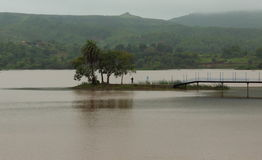 Naturalna sceneria, kagdi pickup jezioro, banswara, Rajasthan, India Zdjęcia Stock