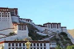 Naturalna sceneria Tybeta?ski plateau zdjęcia royalty free