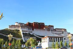 Naturalna sceneria Tybeta?ski plateau zdjęcia stock