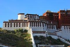 Naturalna sceneria Tybeta?ski plateau obrazy stock