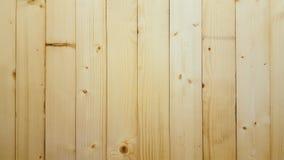 Naturalna sosnowego drewna ściany tekstura Obrazy Stock