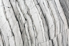 Naturalna szarość marmuru tekstura Obrazy Stock