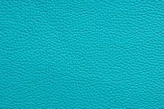 Naturalna turkusowa rzemienna tekstura Obrazy Stock