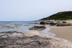 naturalne na plaży Zdjęcia Stock