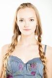 naturalne piękno Ładna dziewczyna Fotografia Stock