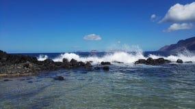 naturalne tekstury grafiki projektu fale morskie Zdjęcia Stock