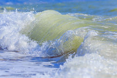 naturalne tekstury grafiki projektu fale morskie Tylny morze, Crimea Obraz Stock