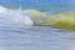 naturalne tekstury grafiki projektu fale morskie Tylny morze, Crimea Zdjęcie Stock