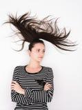 naturalne włosy Zdjęcia Royalty Free