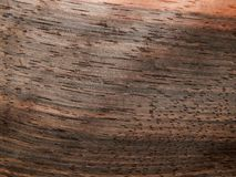 Naturalnego drewno forniru drewniany heban Eben Makasar zdjęcie royalty free