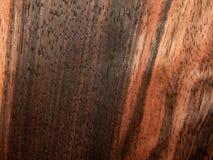 Naturalnego drewno forniru drewniany heban Eben Makassar zdjęcia royalty free