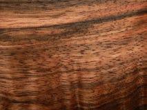 Naturalnego drewno forniru drewniany heban Eben Makassar fotografia royalty free