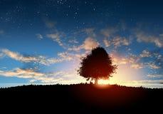 naturalnego krajobrazu Zdjęcie Royalty Free