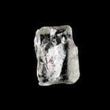 Naturalnego krystalicznego płatka śniegu makro- kawałek lód Obraz Stock