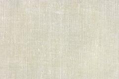 Naturalnego rocznika burlap tkaniny bieliźniana tekstura, horyzontalny textured tło, dębnik, beż, yellowish, popielaty wzór, ampu Zdjęcie Stock