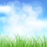 Naturalnej wiosny tło Obraz Stock