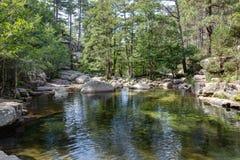 Naturalni baseny Aitone w i - fotografia royalty free