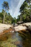 Naturalni baseny Aitone w i - zdjęcia stock