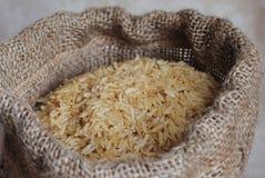 Naturalni brown ryż Obrazy Royalty Free