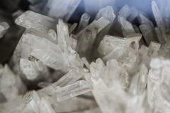 Naturalni kamienni kryształy Zdjęcie Royalty Free
