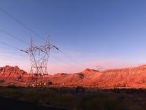 Naturalni krajobrazy w Arizona, usa Zdjęcia Stock