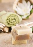naturalni mydła Obrazy Stock