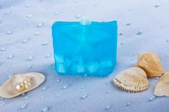 Naturalni Mydlani Skincare produkty Fotografia Stock
