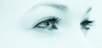 Naturalni oczy zdjęcia stock