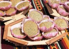 Naturalni organicznie ciastka Fotografia Stock