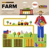 Naturalni Organicznie Foods supermarket ilustracji