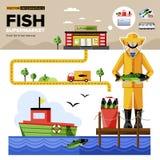 Naturalni Organicznie Foods supermarket ilustracja wektor