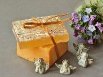 Naturalni organicznie mydlani bary Obraz Royalty Free