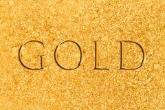 Naturalnie Minujący Placer złoto obraz stock