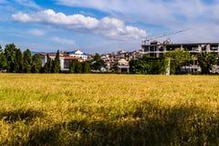 Naturalny środowisko I budynki W Yalova mieście - Turcja Obrazy Stock